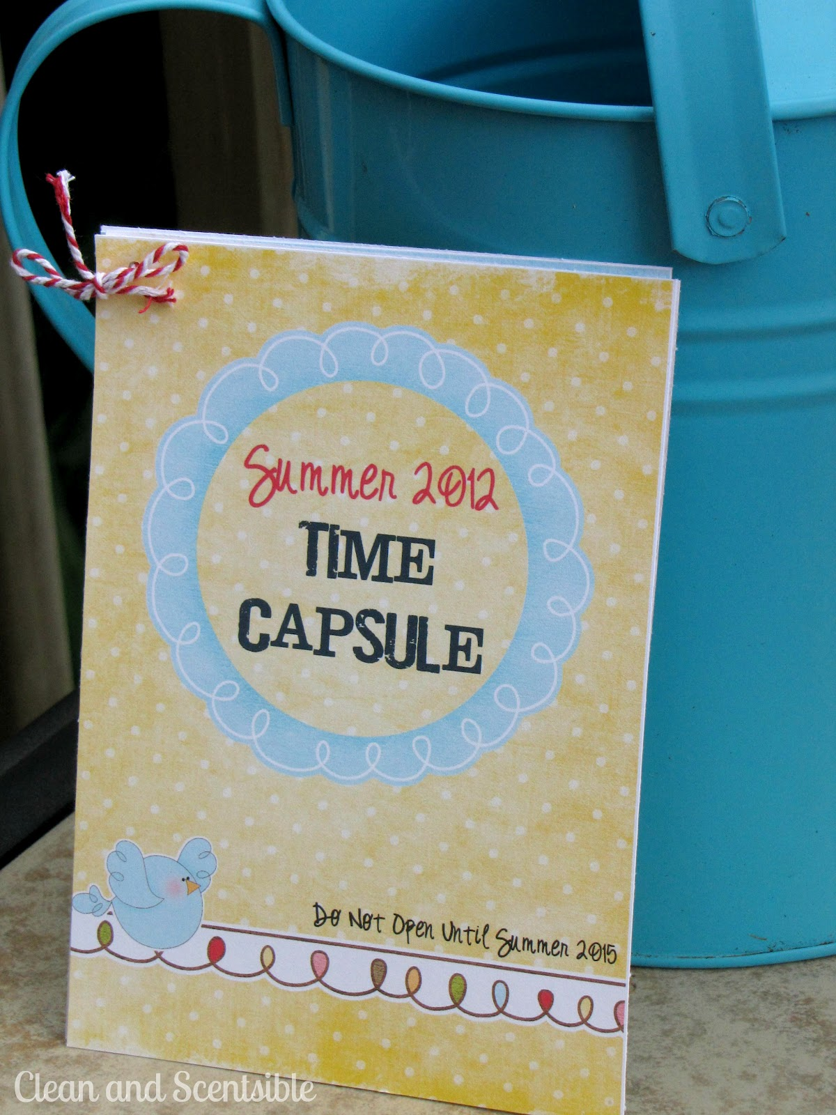 Summer Camp: Time Capsule