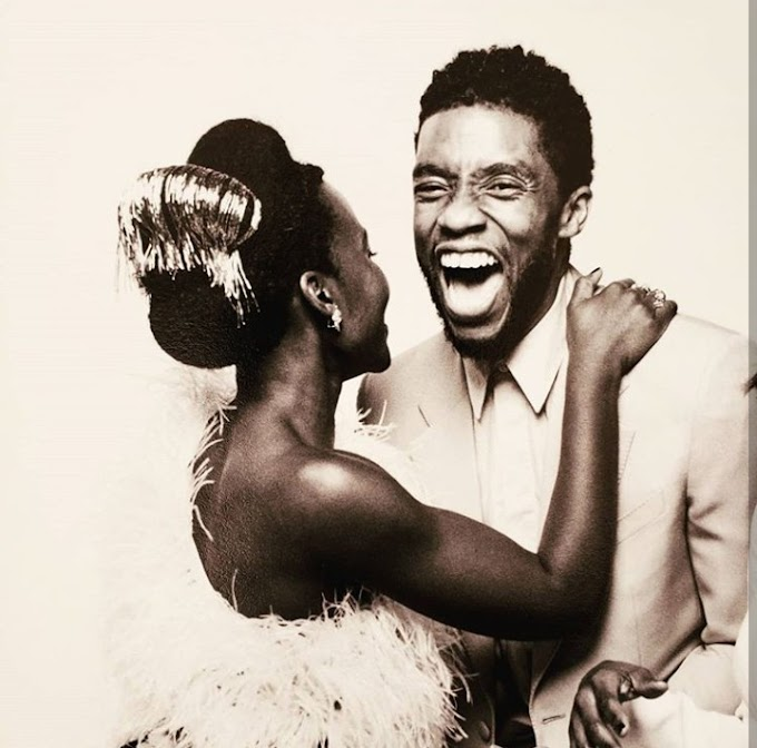 Lupita Nyong'o breaks her silence to pay emotional tribute to late actor, Chadwick Boseman