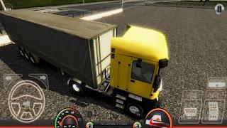 لعبة Truck Simulator : Europe 2 محاكاة القيادة مهكرة