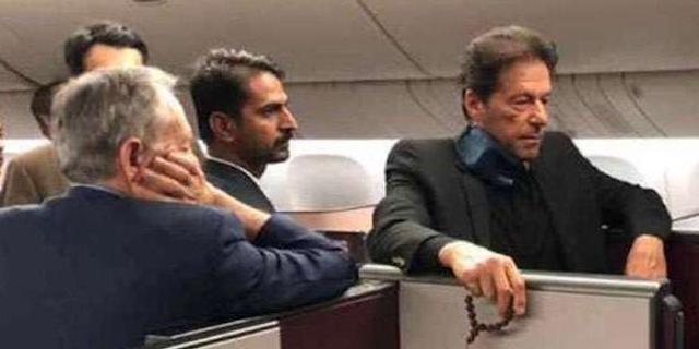 पाकिस्तानी मियां इमरान का विमान खराब नहीं हुआ था, बीच रास्ते में उतार दिया गया था | WORLD NEWS