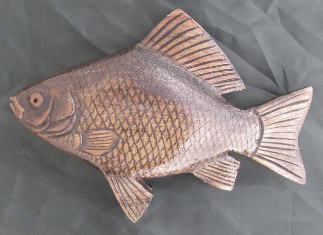 деревянные рыбы России - карась