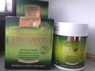 Maseczka do włosów Biovax Bambus i Awokado opinie