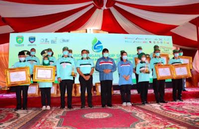 Kabupaten Muara Enim Terima 3 Penghargaan di Peringatan Hari Lingkungan Hidup Sedunia Tingkat Provinsi Sumsel Tahun 2020