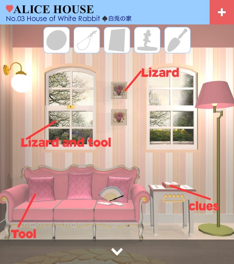 Escape Alice House Level 3 Walkthrough ~ Escape mobile games