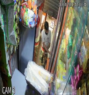 लॉक डाउन में वरिष्ट अधिकारीयो की लूट खशोट सीसी टीवी कैमरे में हुई कैद