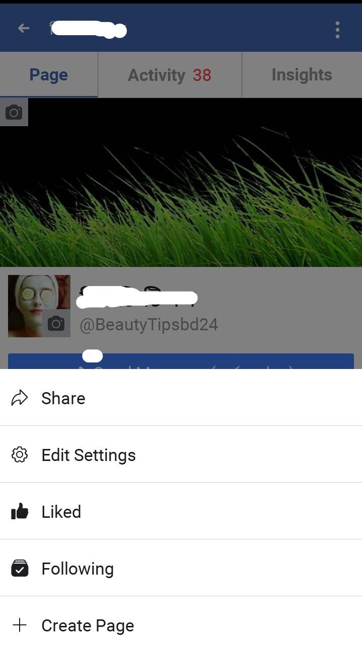 edit settings facebook