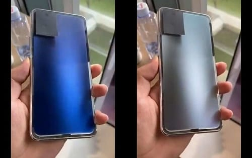 Vivo is developing a phone that can change colors with the push of a button