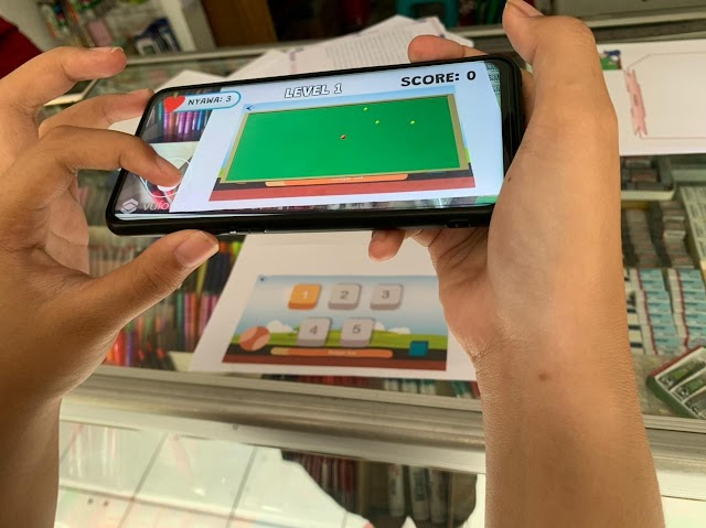 Inovasi Mahasiswa UM, BRIGFAT: Game Edukasi untuk Materi Kinematika dengan Memanfaatkan Teknologi Augmented Reality