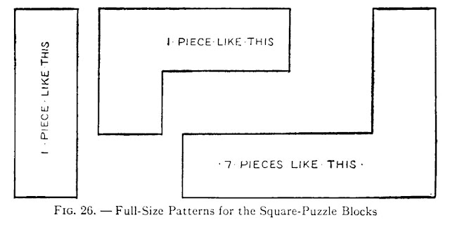 Square Puzzle plan - How to make Square Puzzle