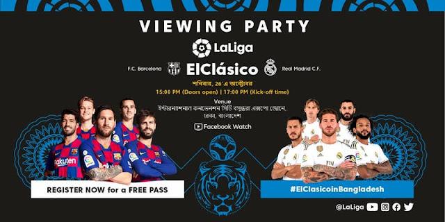 Watch El Clasico on Big Screen in Dhaka - Register & Get Free Pass