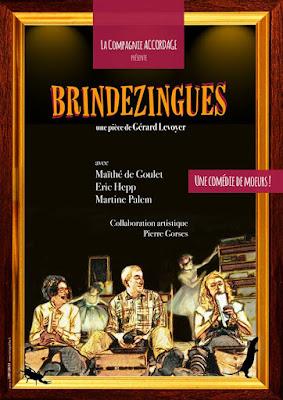 L'affiche de Brindezingues par la Compagnie Accordage
