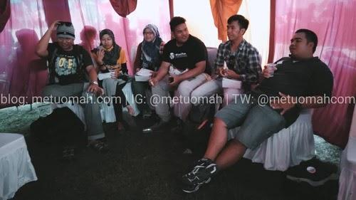 Beberapa Blogger Jogja di Tebing Breksi 2015