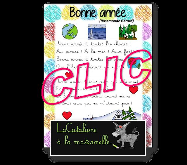 Bonne année (Rosemonde Gérard) - LaCatalane