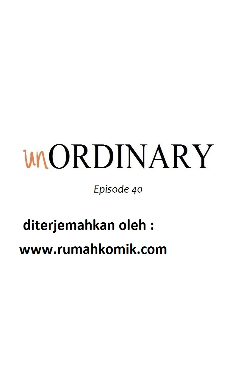 Webtoon UnOrdinary Bahasa Indonesia Chapter 40