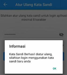 Ubah PIN password BPJSTKU Apk