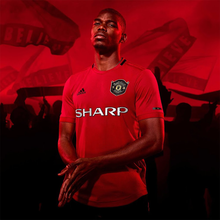 What If? Adidas Manchester United 19-20 Home Kit With Classic Sponsor -  Footy Headlines