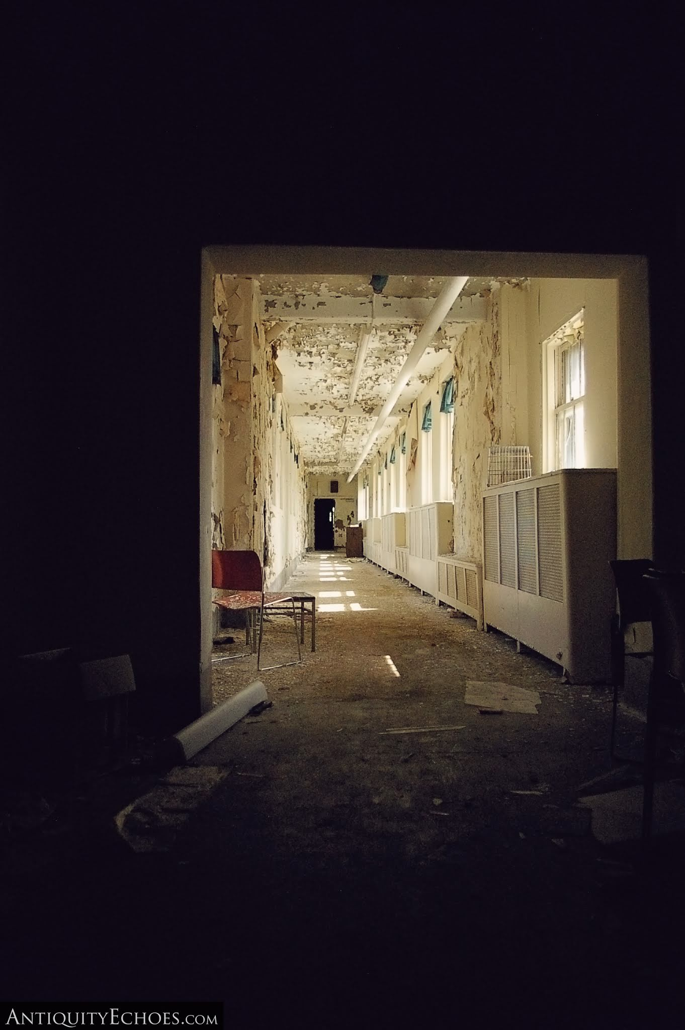 Overbrook Asylum - Light and Shadow in the Wards
