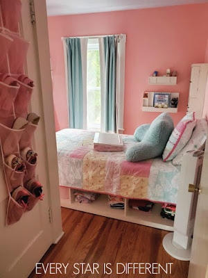 A Minimalist Montessori Preteen Girl's Bedroom