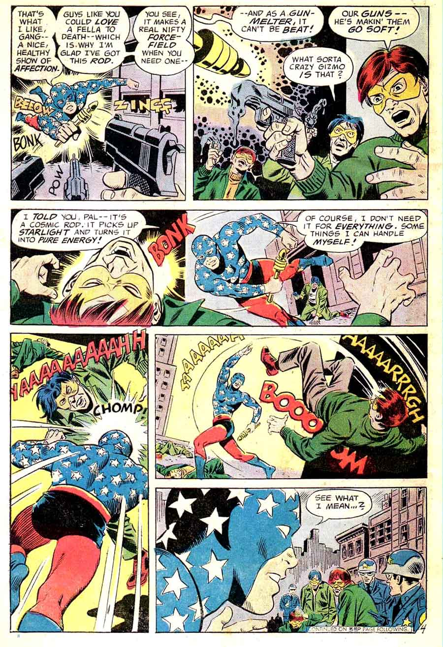 All Star Comics v1 #58 dc bronze age comic book page art by Wally Wood