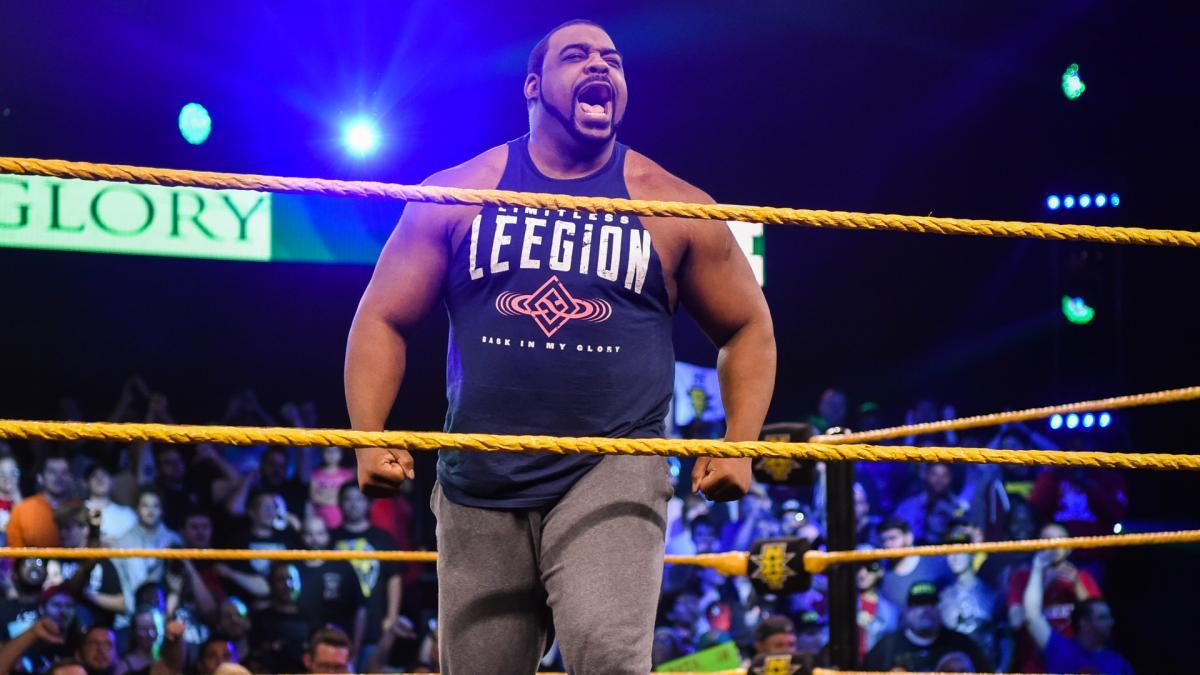 Keith Lee ainda está sob contrato com a WWE