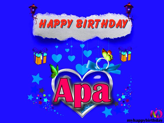 Happy Birthday Apa - Happy Birthday To You