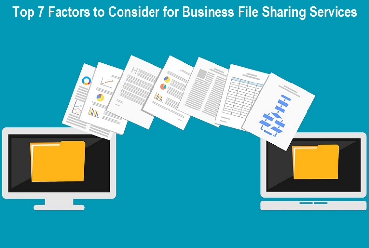 Factors to Consider for Business File Sharing Services