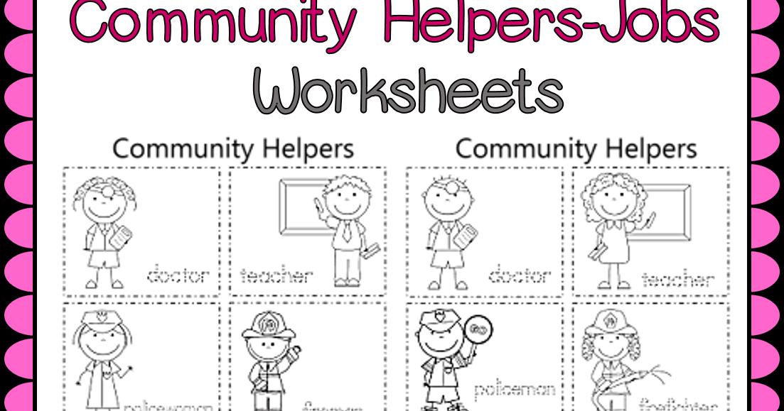 Esl Efl Preschool Teachers Esl Community Helpers Worksheets Last Part Of The Resource - Download Preschool Community Helpers Worksheets For Kindergarten Images
