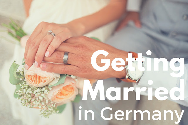 Getting married in Germany: registering a marriage