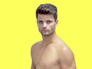 Jefferson Neumann, Mister Joinville 2017, sensualiza de cueca em ensaio