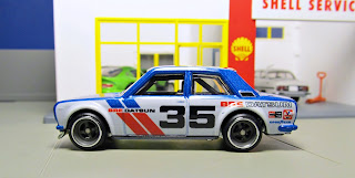Hot Wheels RLC Car Culture  blue bre datsun bluebird 510