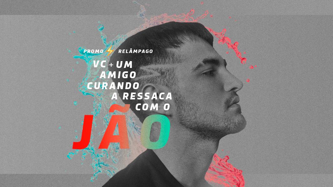 """De uma só vez, Jão lançou o clipe de seus singles de estreia, """"Álcool"""" e """"Ressaca"""". Cantor se apresenta no RJ nesta sexta (10)."""