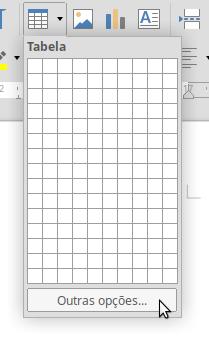 Criando tabela
