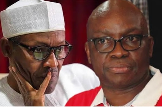 Gov. Fayose Hails President Buhari At 75, Urges Him Not To Re-contest