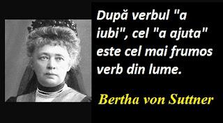 Citatul zilei: 9 iunie - Bertha von Suttner