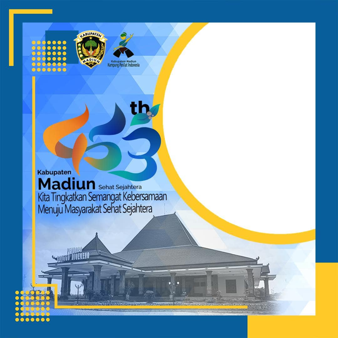 Link Download Bingkai Foto Twibbon HUT Kabupaten Madiun ke-453 Tahun 2021 - Twibbonize