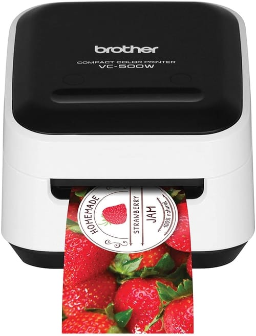 Review Brother VC-500W Versatile Compact Label Printer