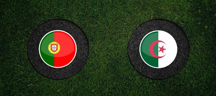 الجزائر والبرتغال اليوم