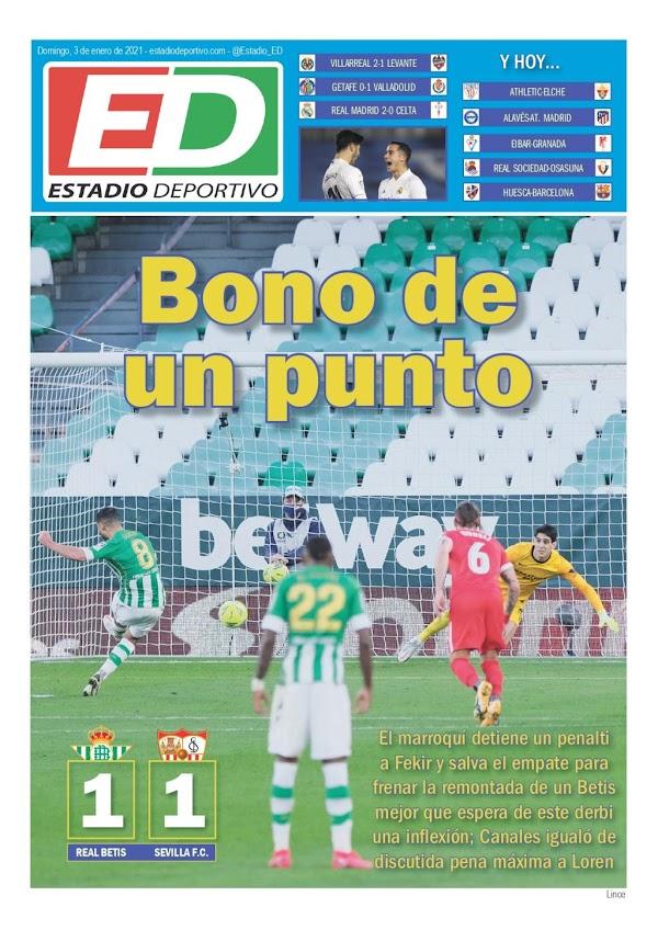"""Betis, Estadio Deportivo: """"Bono de un punto"""""""