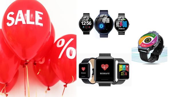 Coleção dos Smartwatches Kospet em promoção