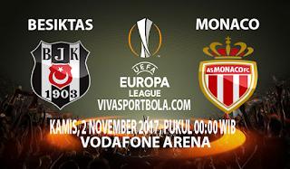 Prediksi Besiktas vs AS Monaco 2 November 2017