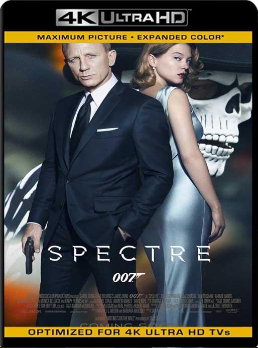 007: Spectre (2015) 4K 2160p UHD [HDR] Latino [GoogleDrive]