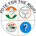 VOTE FOR THE RIGHT (PARLIAMENT ELECTION)