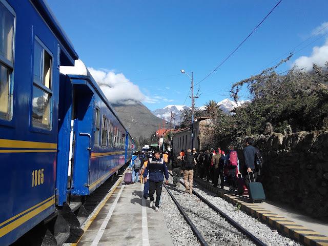 Estación de tren de Ollantaytambo