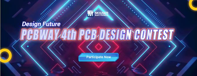 PCB Way 4th PCB Design Contest - Concurso de diseño
