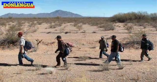 87 refugiados venezolanos fueron rescatados en el desierto de Arizona