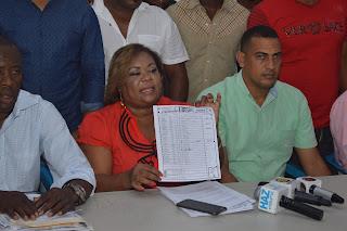 Candidata alcaldesa del PRM pide anular elecciones en La Victoria