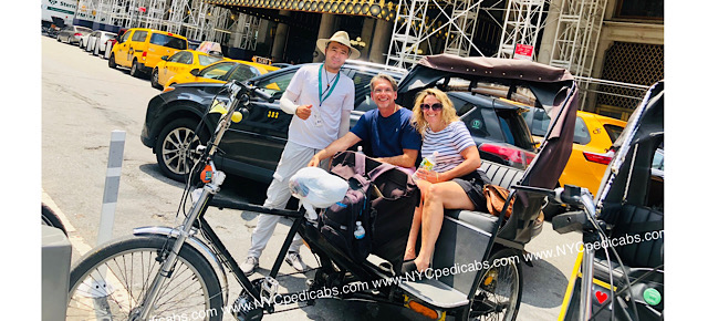 New York City Pedicab Tours
