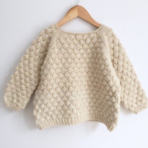 Bubblewrap Jumper - Free Pattern