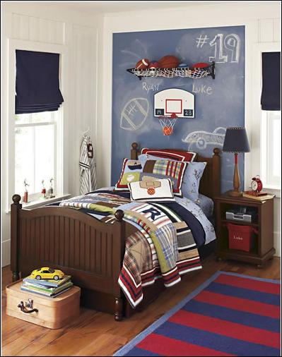 Boys Sports Bedroom Decorating Ideas - Home & Garden Improvement ...