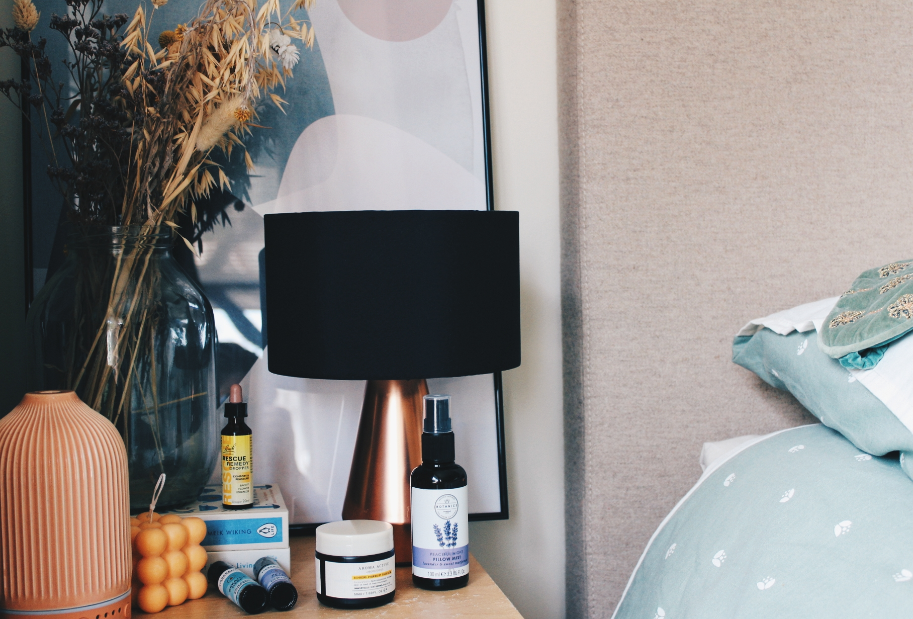 My go-to routine for a blissful slumber